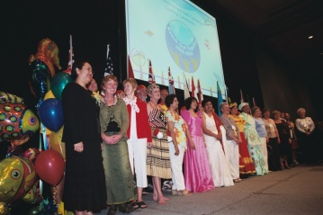 A gathering of nations at Convention