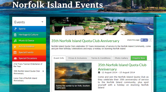 Norfolk Island Events
