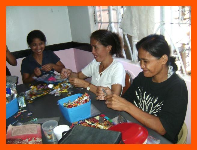 Women in Manila participate in Quota's Empowering Women and Children Through Education Program