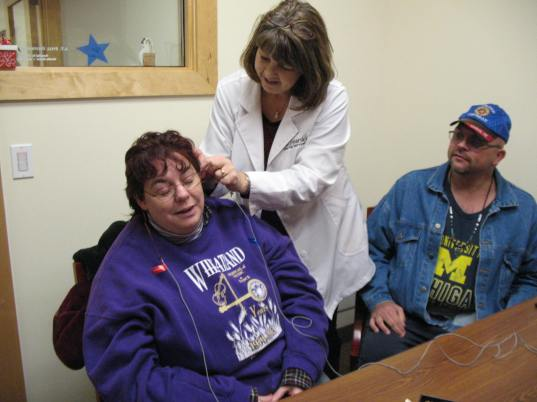 Monrovia Hearing Aid Fitting