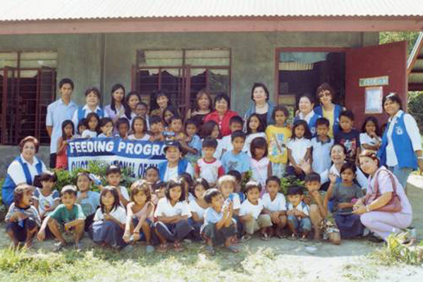 Feeding Program in Manila