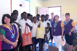 Ipswich School supply donation