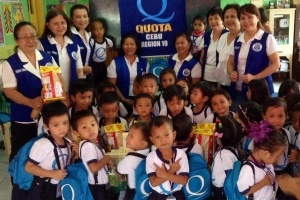 Quota International Cebu at the Sawang Celaro Daycare Center