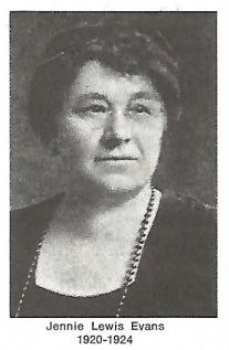 Jenny Lewis Evans