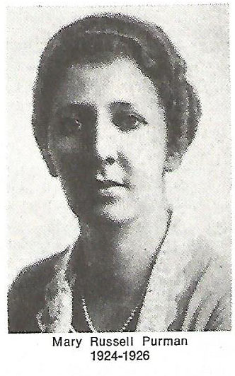 Mary Russell Purman