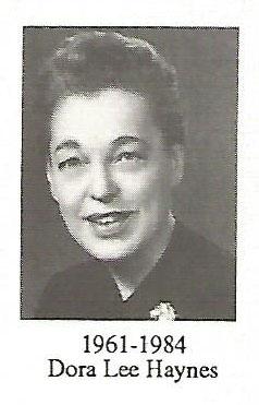 Dora Lee Hanes